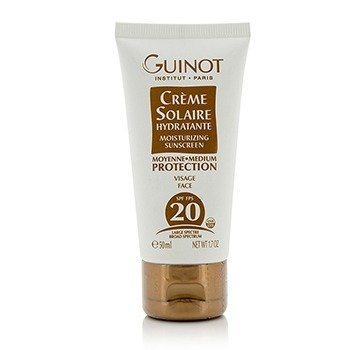 Guinot Creme Solaire Hydratante Moisturizing Sunscreen For Face SPF20  50ml/1.7oz
