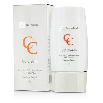 Dermaheal CC Cream SPF30 - Natural Beige (Exp. Date 03/2017)  50g/1.7oz