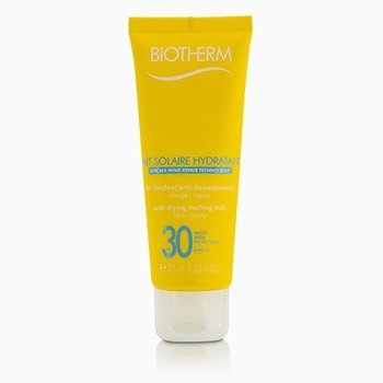 Biotherm Lait Solaire Hydratant Anti-Drying Melting Milk SPF 30 - For Face & Body  75ml/2.53oz