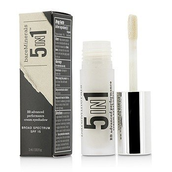 BareMinerals BareMinerals 5 In 1 BB Advanced Performance Cream Eyeshadow Primer SPF 15 - Luminous Pearl  3ml/0.1oz