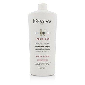 Kerastase Specifique Bain Prevention Champú Normalizante de Uso Frecuente (Cabello Normal - Riesgo de Adelgazamiento)  1000ml/34oz