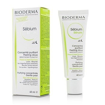 Bioderma Sebium Purifying Skin Renovator Concentrate - For Combination/Oily Skin (Exp. Date 03/2017)  40ml/1.33oz