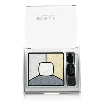 Bourjois Smoky Stories Cuadrángulo de Paleta de Sombras de Ojos - # 09 Grey-zy In Love  3.2g/0.11oz