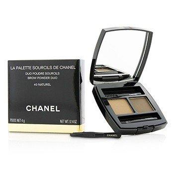 Chanel La Palette Sourcils De Chanel Brow Powder Duo - # 40 Naturel  4g/0.14oz