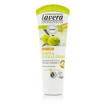 Lavera Organic Olive Oil & Camomile Crema de Cutícula y de Manos 2 En 1  75ml/2.5oz