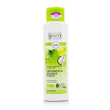 Lavera Organic Lemon Balm & Organic Mint Freshness & Balance Shampoo (For Oily Hair)  250ml/8.3oz
