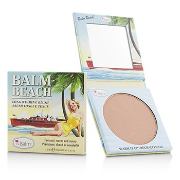 TheBalm Balm Beach Long Wearing Blush  5.576g/0.197oz