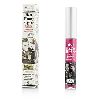 TheBalm Meet Matte Hughes Long Lasting Liquid Lipstick - Chivalrous  7.4ml/0.25oz