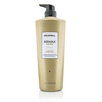 Goldwell Kerasilk Control Acondicionador (Para Cabello Inmanejable, Rebelde y con Frizz)  1000ml/33.8oz
