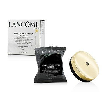 Lancome Płynny podkład do twarzy z filtrem UV Teint Idole Ultra Cushion Liquid Cushion Compact SPF 50 - # 025 Beige Naturel  13g/0.45oz