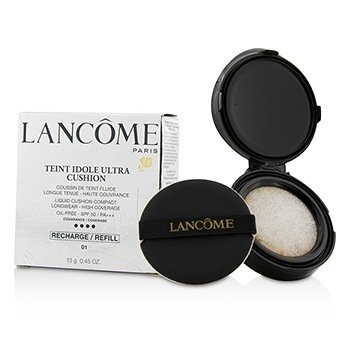 Lancome Teint Idole Ultra Cushion Liquid Cushion Compact SPF 50 Refill - # 01 Pure Porcelaine  13g/0.45oz
