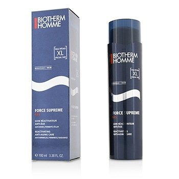 Biotherm Homme Force Supreme Total Reactivator Anti Aging Gel Care  100ml/3.38oz