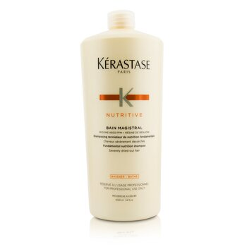 Kerastase Nutritive Bain Magistral Fundamental Nutrition Shampoo (Severely Dried-Out Hair)  1000ml/33.8oz