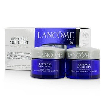 Lancome Renergie Multi-Lift Creme Legere Duo - Para Todo Tipo de Piel  2x15ml/0.5oz