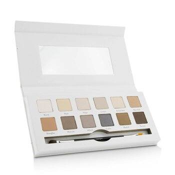 Cargo Paleta do makijażu Around the World Eye Shadow Palette (12x cień do powiek, 1x aplikator)  12x0.8g/0.03oz