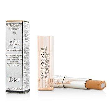 Christian Dior Fix It Colour 2 In 1 Prime & Colour Correct - # 200 Apricot  3.5g/0.12oz