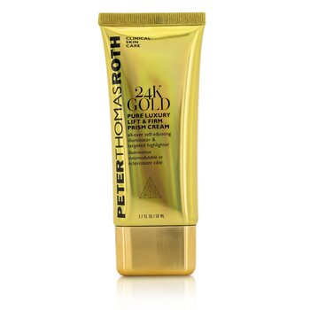 פיטר תומס רות' 24K Gold Pure Luxury Lift & Firm Prism Cream קרם למיצוק העור  50ml/1.7oz