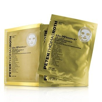 פיטר תומס רות' Un-Wrinkle 24K Gold Intense Wrinkle Sheet Mask  6x25ml/0.85oz