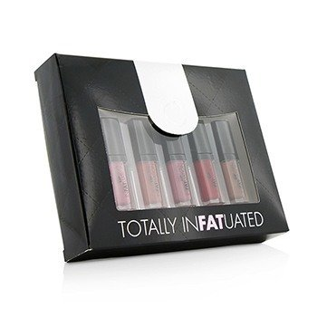 Fusion Beauty Totally Infatuated Set (5x Mini LipFusion Infatuation Lipgloss)  5x2.5g/0.09oz