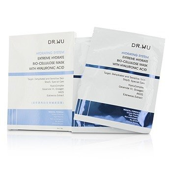 DR.WU Hydrating System Extreme Hydrate Bio-Cellulose Mask With Hyaluronic Acid  3pcs