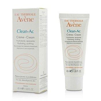 Avene Clean-AC Hydrating Cream - For Oily, Blemish-Prone Skin  40ml/1.35oz