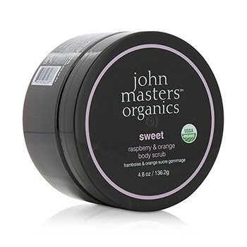 John Masters Organics Sweet Raspberry & Orange Body Scrub  136.2g/4.8oz
