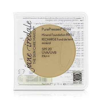 Jane Iredale PurePressed Base Mineral Foundation Refill SPF 20 - Warm Silk  9.9g/0.35oz