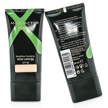 Max Factor Xperience Weightless Foundation SPF10 Duo Pack - #50 Beige Linen  2x30ml/1oz