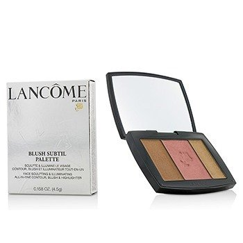 Lancome Paleta de Rubor Sutil (3x Colores de Rubor en Polvo) - # 385 Plum Elegance (Versión US)  4.5g/0.158oz