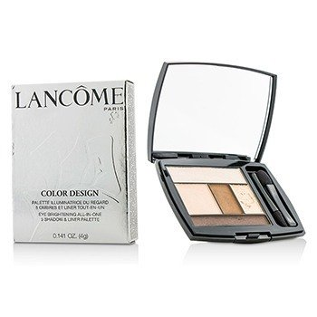 Lancôme Color Design 5 Shadow & Liner Palette - # 109 French Nude (US Version)  4g/0.141oz