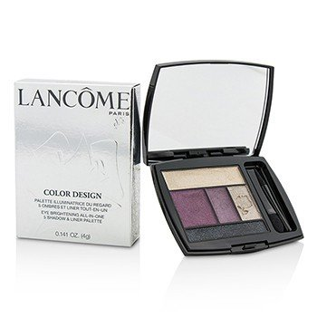 Lancôme Color Design 5 Shadow & Liner Palette - # 301 Mauve Cherie (US Version)  4g/0.141oz