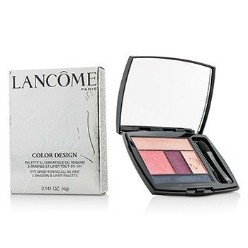 Lancôme Color Design 5 Shadow & Liner Palette - # 213 Rosy Flush (US Version)  4g/0.141oz