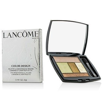 Lancome Color Design 5 Shadow & Liner Palette - # 603 Olive Soleil  4g/0.141oz