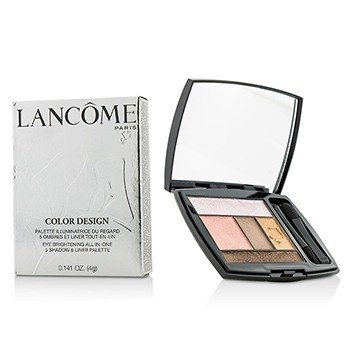 Lancôme Color Design 5 Shadow & Liner Palette - # 207 Petal Pusher (US Version)  4g/0.141oz