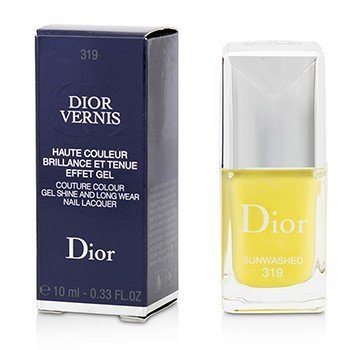 Christian Dior Dior Vernis Couture Colour Gel Shine & Long Wear Nail Lacquer - # 319 Sunwashed  10ml/0.33oz