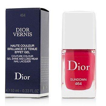 Christian Dior Dior Vernis Couture Colour Gel Shine & Long Wear Nail Lacquer - # 464 Sundown  10ml/0.33oz