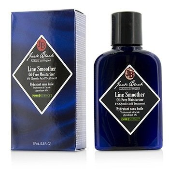 Jack Black Line Smoother Face Moisturizer (4% Glycolic Acid)  91ml/3.3oz