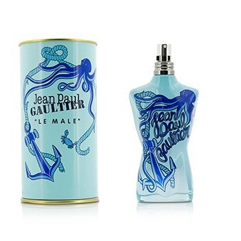 Jean Paul Gaultier Le Male Summer Eau De Toilette Spray (2014 Edition, without Cellophane)  125ml/4.2oz