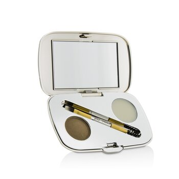 Jane Iredale Zestaw do brwi GreatShape Eyebrow Kit (1x Brow Powder, 1x Brow Wax, 1x Applicator) - Blonde  2.5g/0.085oz
