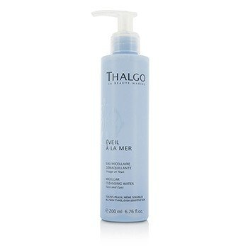 Thalgo Eveil A La Mer Micellar Cleansing Water (Face & Eyes) - For All Skin Types, Even Sensitive Skin  200ml/6.76oz