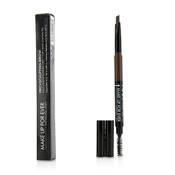 Make Up For Ever Pro Sculpting Brow Lápiz Esculpidor de Cejas 3 En 1 - # 30 (Brown)  0.6g/0.017oz