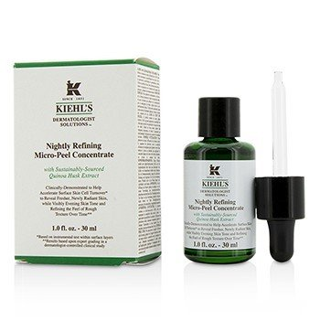 Kiehl's Dermatologist Solutions Nightly Refining Micro-Peel Concentrate  30ml/1oz