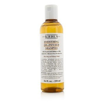 Kiehl's Smoothing Oil-Infused Shampoo (For Dry or Frizzy Hair)  250ml/8.4oz