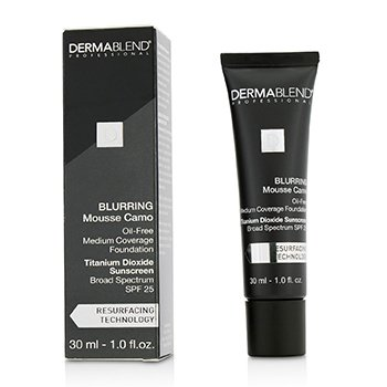 Dermablend Blurring Mousee Camo Oil Free Foundation SPF 25 (Medium Coverage) - #55N Saffron  30ml/1oz