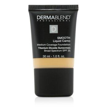 Dermablend Smooth Liquid Camo Foundation SPF 25 (Medium Coverage) - Chai (35W)  30ml/1oz