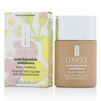 Clinique Anti Blemish Solutions Liquid Makeup - # 15 Fresh Cream Chamois  30ml/1oz