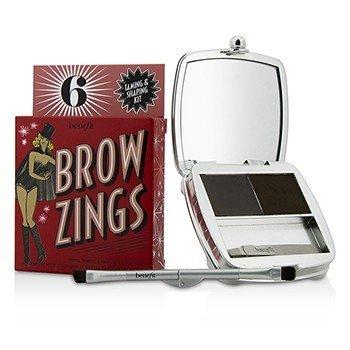 Benefit Brow Zings (Kit Para Cejas Domador & Dador de Forma Total) - #6 (Deep)  4.35g/0.15oz