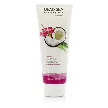 Ahava Dead Sea Essentials Coconut Salt Scrub  220ml/7.5oz