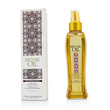 L'Oreal Professionnel Mythic Oil Colour Glow Oil Radiance Oil - For Colour-Treated Hair (Box Slightly Damaged)  100ml/3.4oz