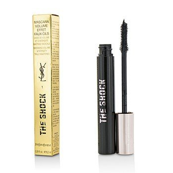 Yves Saint Laurent The Shock Volumizing Mascara - # 01 Asphalt Black  8.2ml/0.28oz